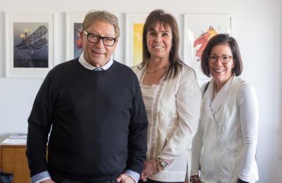 Stuart Weitman, Tali Kwatcher and Deirdre Nectow