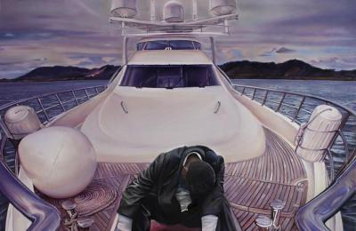 """""""Yachting"""" by Lily Morris"""