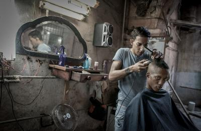 """Barber Shop"" by Susan Cannarella '81"