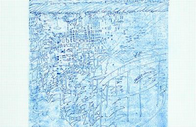 Sarah Sze sketch