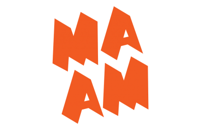 MassArt Art Museum Orange Logo