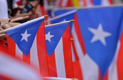 Puerto Rican Flag by Ricardo Dominguez