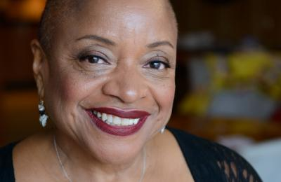 Portrait of Dr. Deborah Willis. Photo: Alice Proujansky.