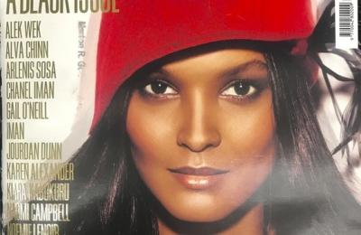 """""""Vogue Italia"""" cover"""