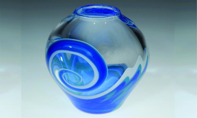 Glasswork by Caterina Urrata '12 BFA and David Weintraub '10 BFA