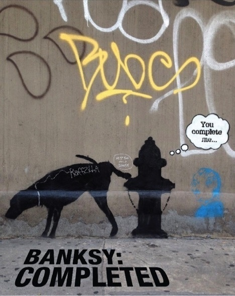 Banksy: Completed poster
