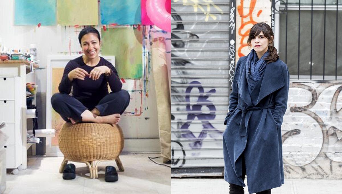 Artist Scherezade Garcia and Writer Valeria Luiselli