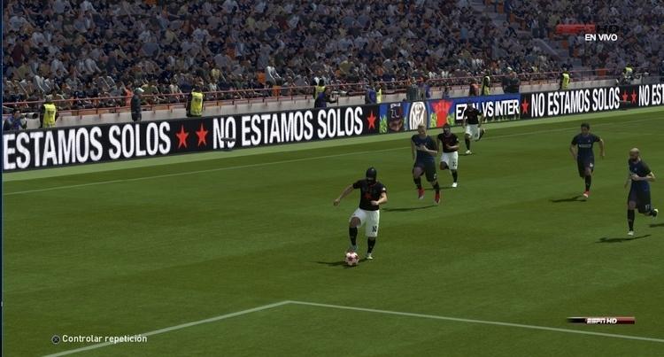 From Juan Obando's Pro Revolution Soccer